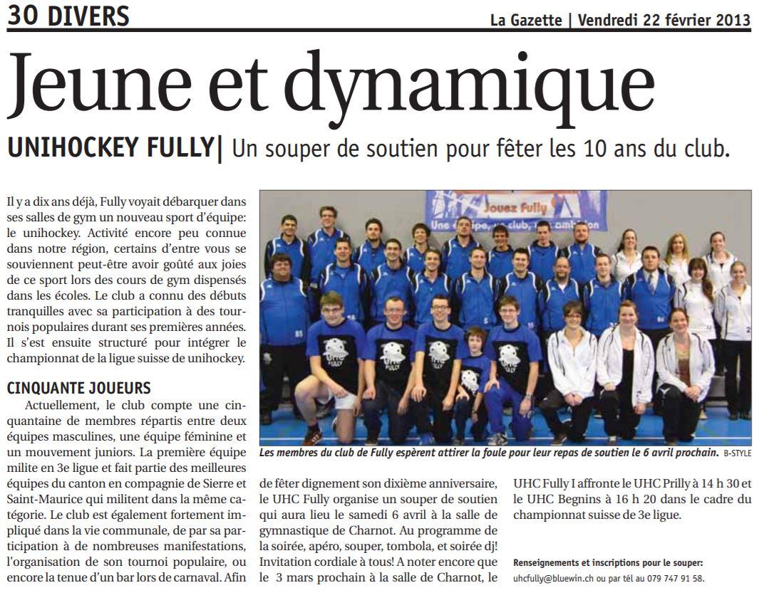Article gazette 02-2013